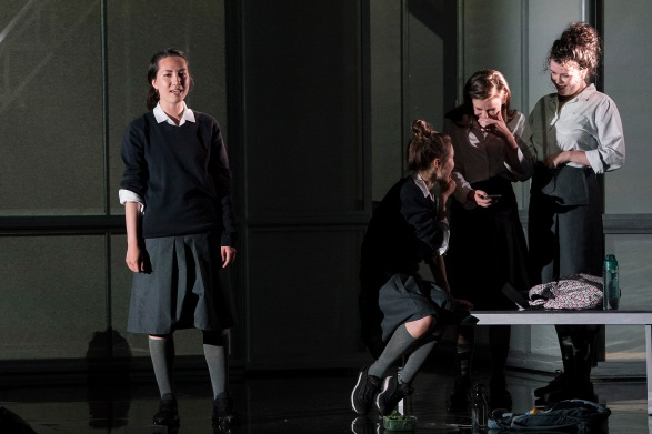 Sile Maguire (Ali), Venetia Bowe (Zoe), Lauren Coe (Emma), Amy McElhatton (Maggie)