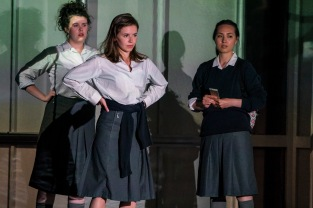 Amy McElhatton (Maggie), Lauren Coe (Emma) and Sile Maguire (Ali)