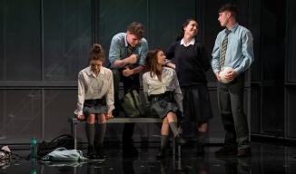 Venetia Bowe (Zoe), Darragh Shannon (Dylan), Lauren Coe (Emma), Sile Maguire (Ali) and Sean Doyle (Sean).