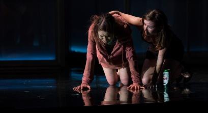 Venetia Bowe (Zoe) and Lauren Coe (Emma)