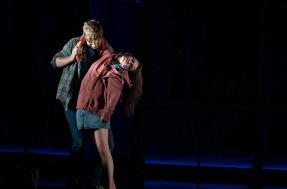 Frank Blake (Conor) and Venetia Bowe (Zoe)