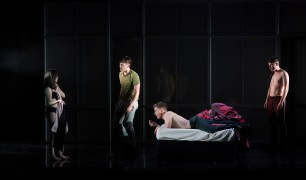 Lauren Coe (Emma), Darragh Shannon (Dylan), Charlie Maher (Paul) and Sean Doyle (Sean)
