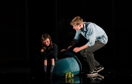 Lauren Coe (Emma) and Frank Blake (Conor)