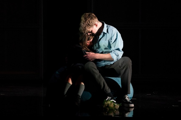 Lauren Coe (Emma) and Frank Blake (Conor)